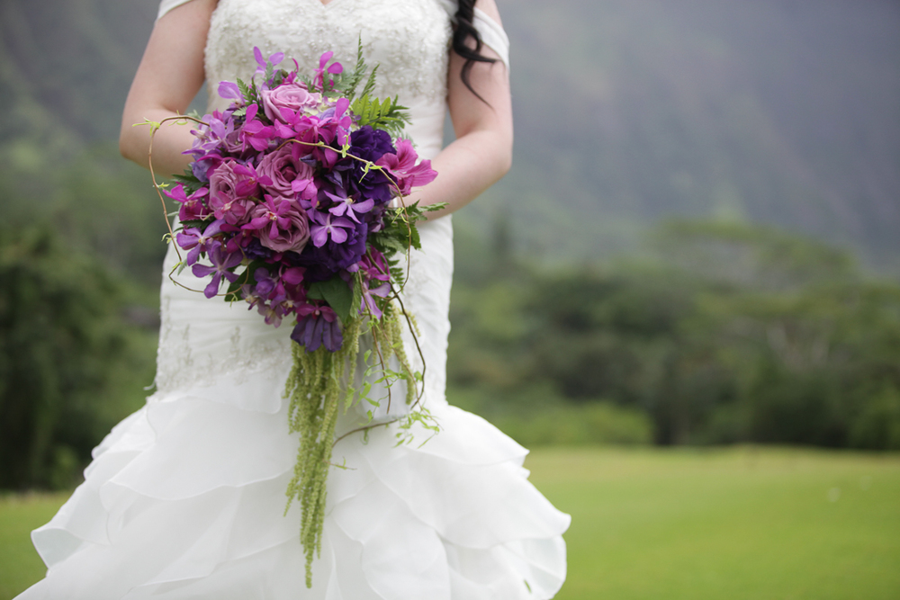 Koolau Ballrooms Oahu Hawaii Wedding