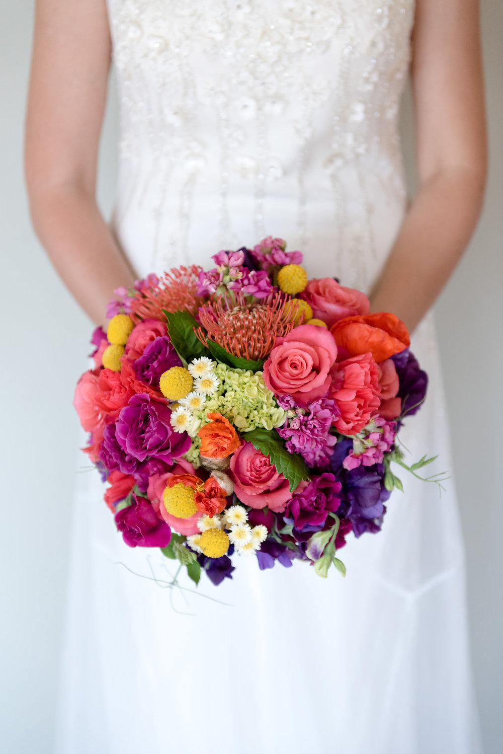 Within Sodo Wedding | Tropical Wedding Bouquet | Affinity Photography | Seattle Wedding Planner | New Creations Weddings