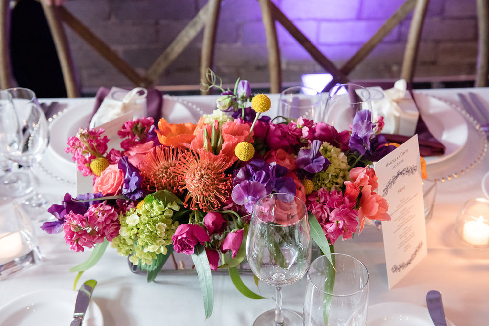 Within Sodo Wedding | Pink and Purple Wedding | Affinity Photography | Seattle Wedding Planner | New Creations Weddings