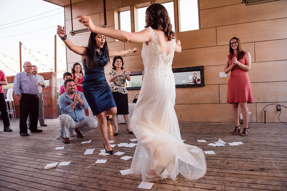 Within Sodo Wedding | Greek Dancing | Affinity Photography | Seattle Wedding Planner | New Creations Weddings