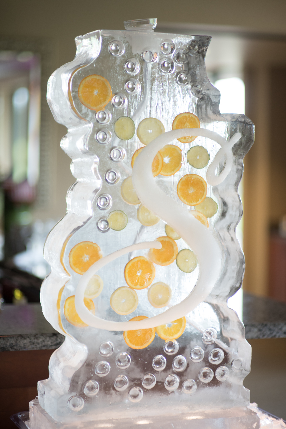 Meridian Valley Country Club Wedding | Ice Sculpture Luge | C2 Photography | Seattle Wedding Planner | New Creations Weddings | Filipino Wedding Planner