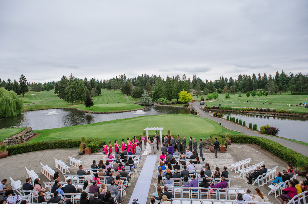 Meridian Valley Country Club Wedding | C2 Photography | Seattle Wedding Planner | New Creations Weddings