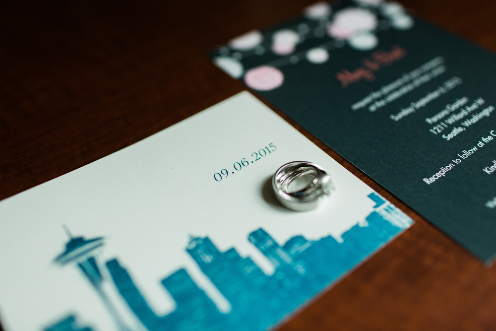 Wedding Invitation | Parsons Gardens Wedding | Asgari Photography | Seattle Wedding Planner | Chinese Wedding Planner