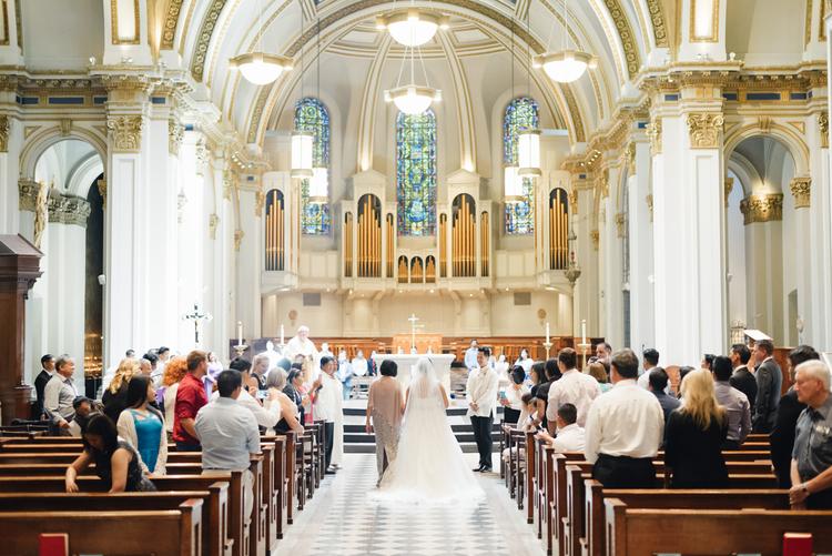 Die klassische Hochzeit in der Kirche