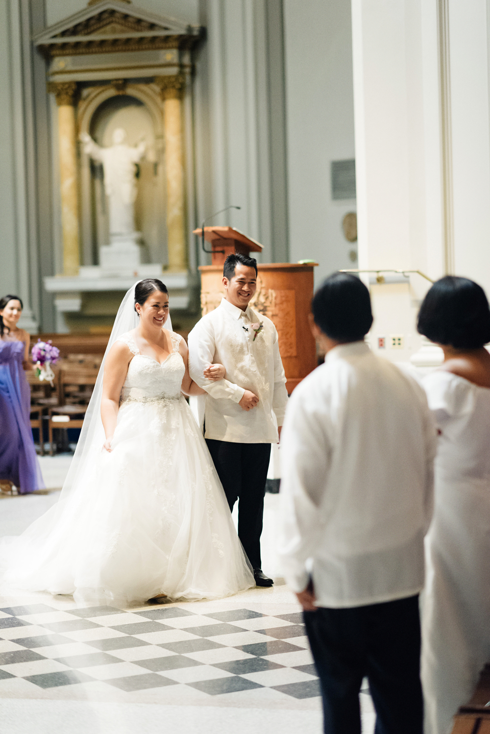 St James Cathedral Wedding | Joe and Patience Photography | Filipino Wedding Planner | Seattle Wedding Planner | Ballard Bay Club Wedding