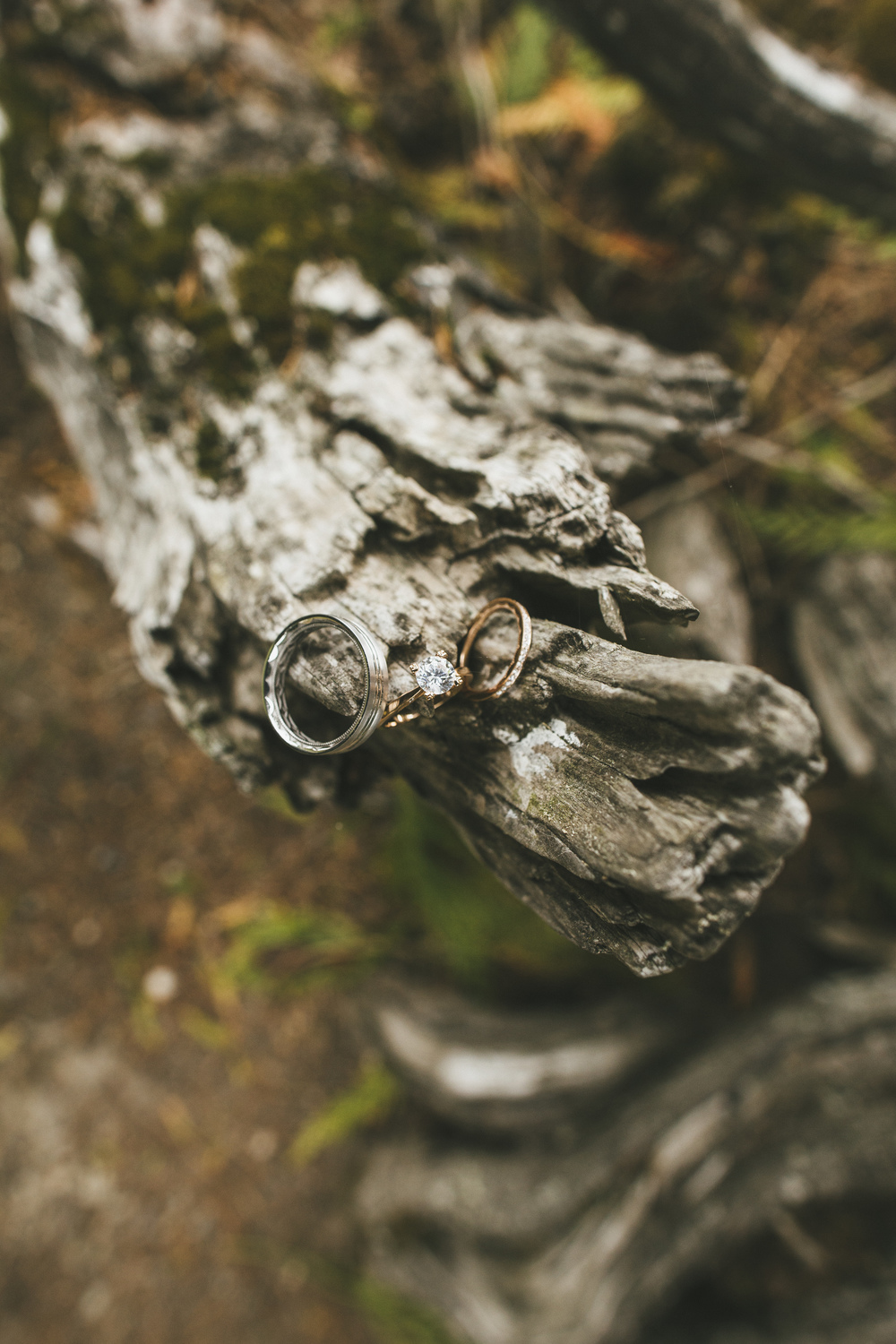 Rustic Wedding Ring Photo