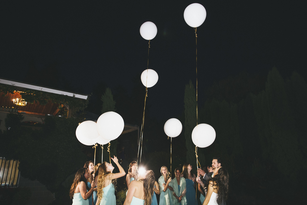 Wedding Balloon Release Idea