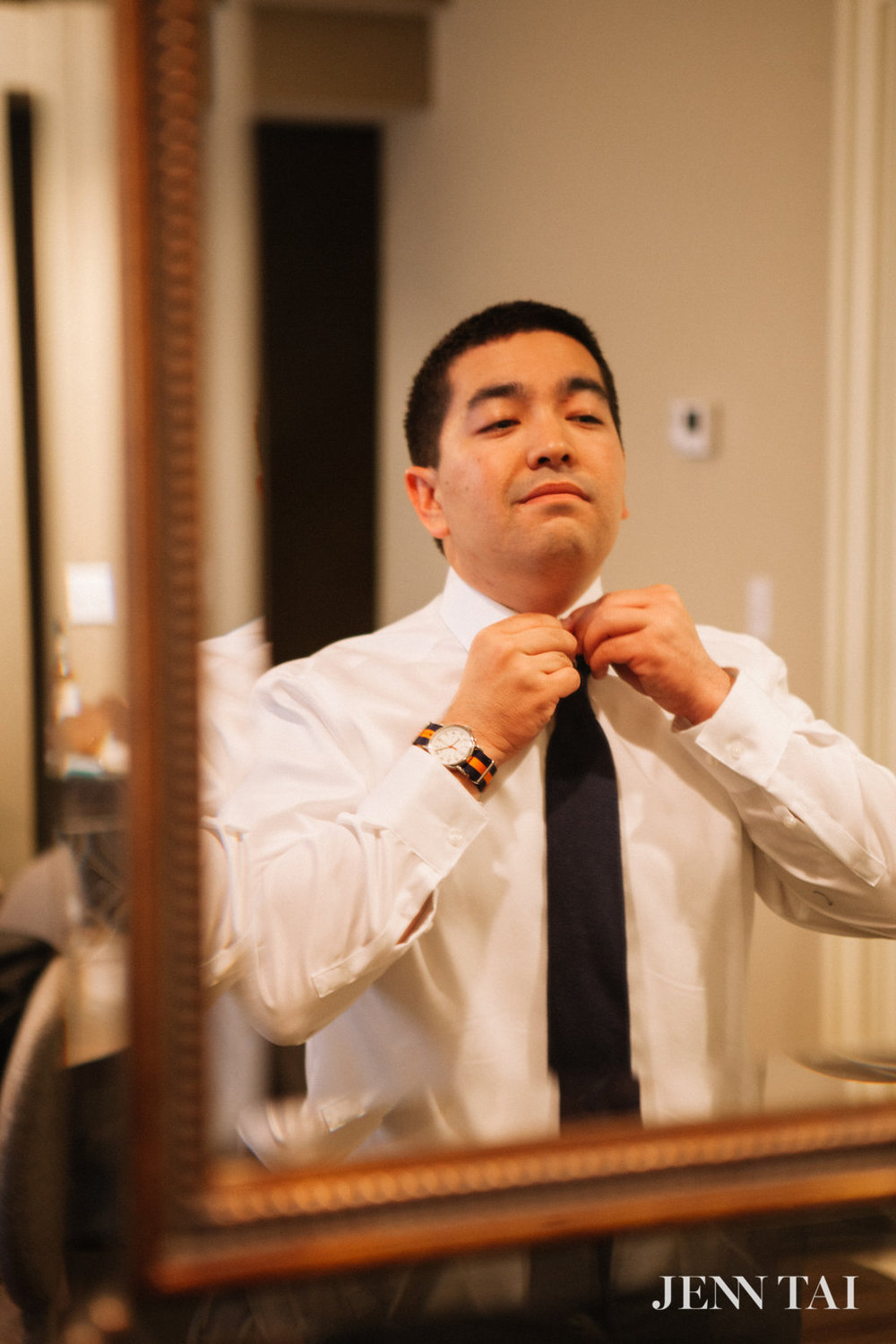 Groom Getting Ready | Seattle Wedding Planner | Chinese Wedding Planner