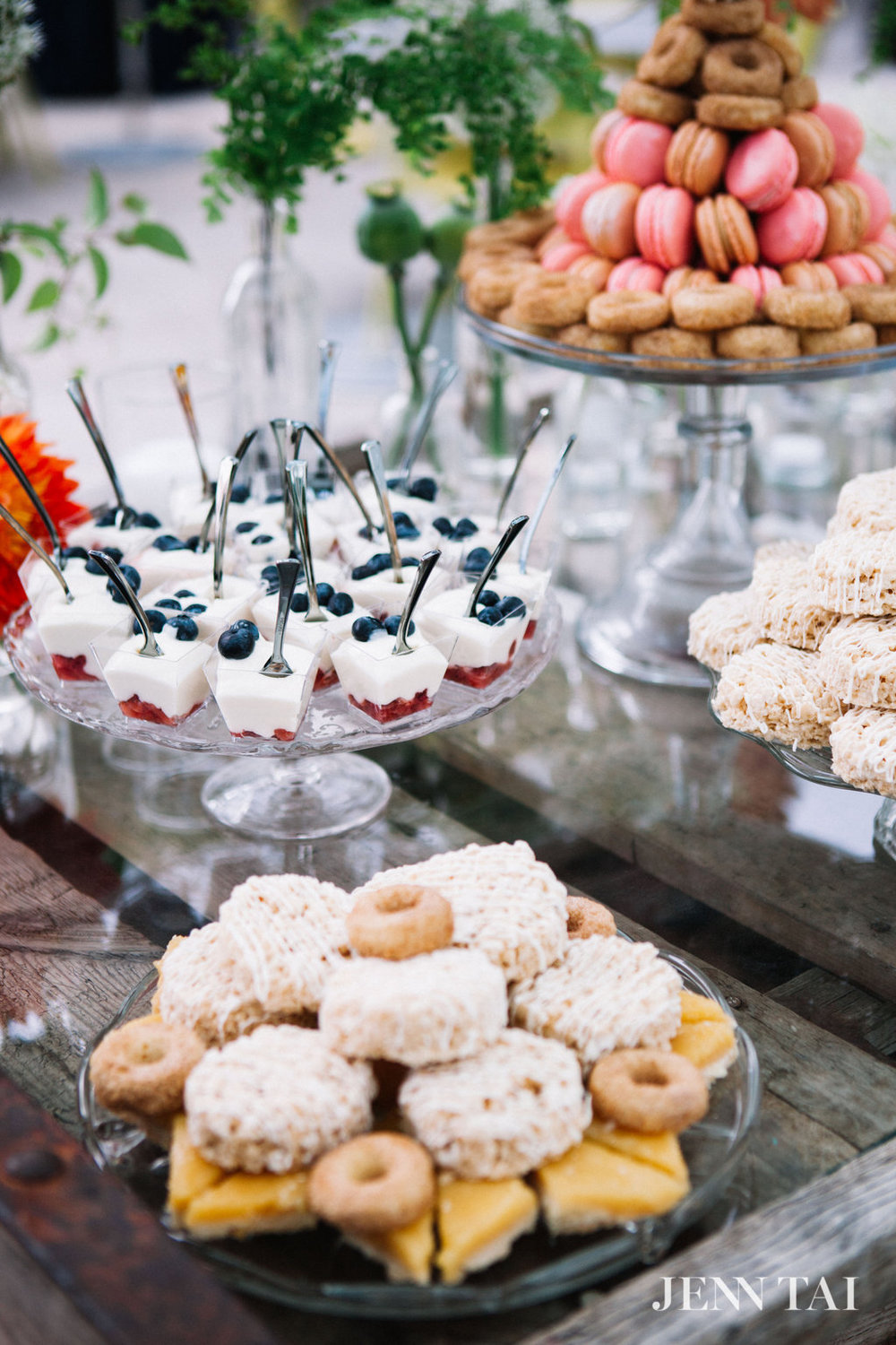 Dessert Display Table | Unique Dessert Display Table | Seattle Wedding Planner