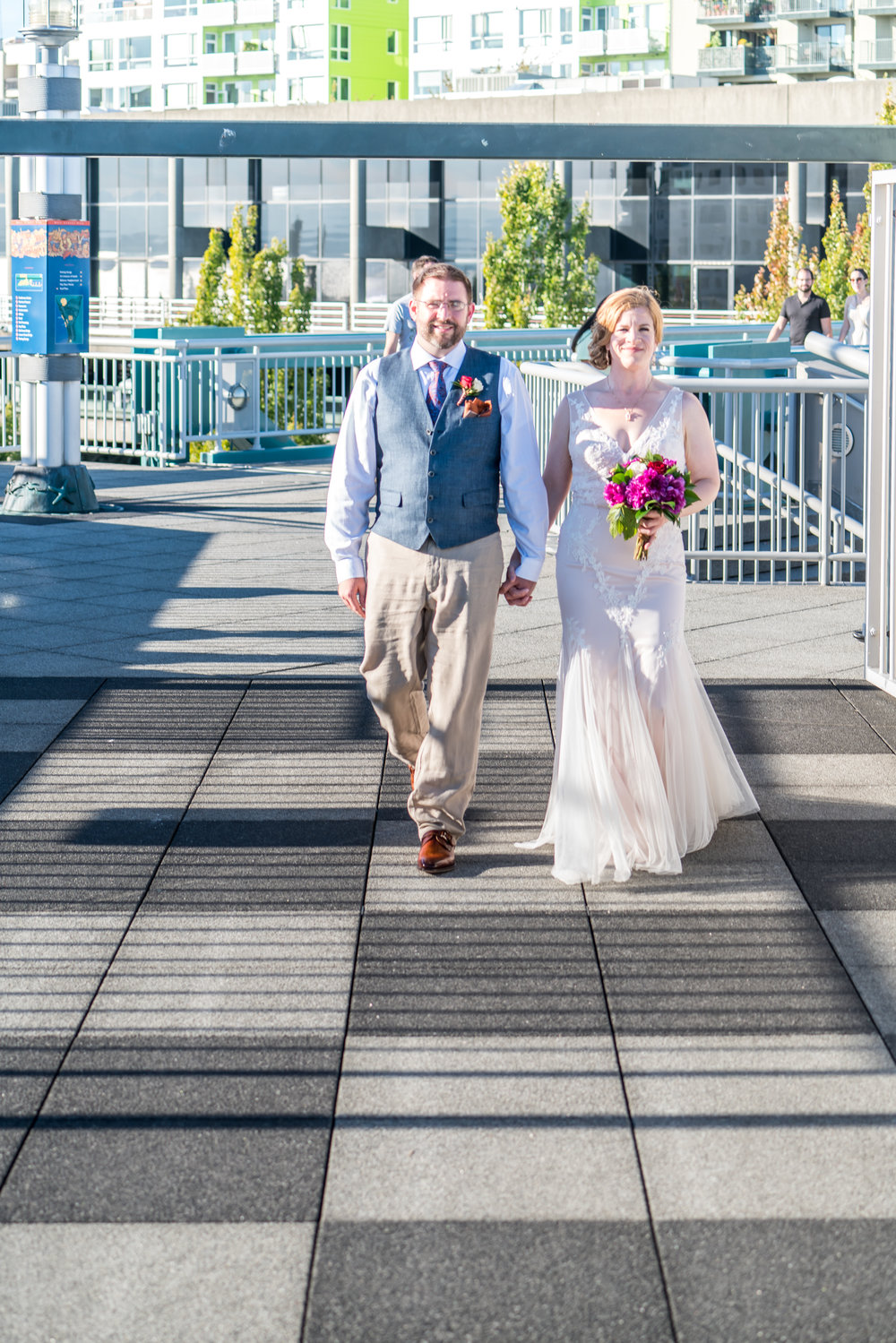 Seattle Wedding Planner Bell Harbor Rooftop Wedding