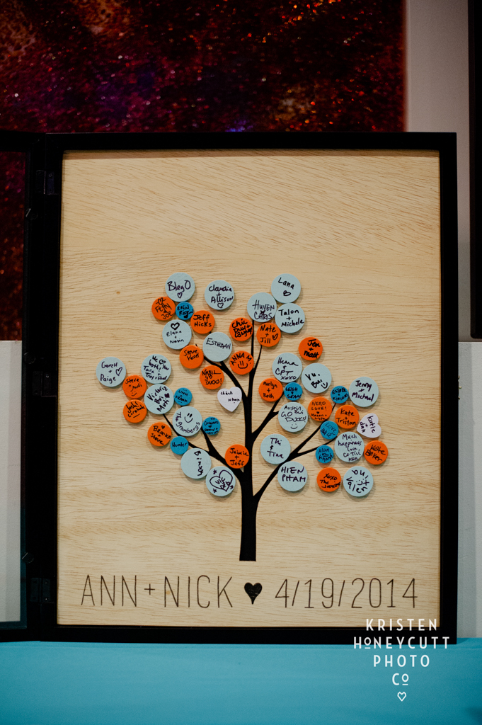 Alternative Wedding Guest Book Idea- Bring in a Family Tree!