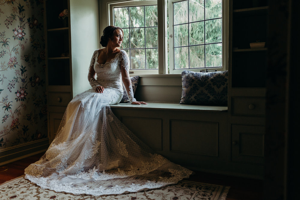 Bridal Portrait at Laurel Creek Manor
