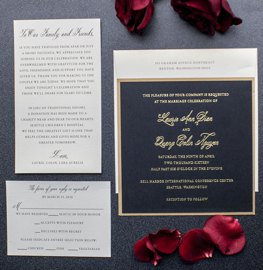 epic modern art deco wedding invitations seattle wedding planner