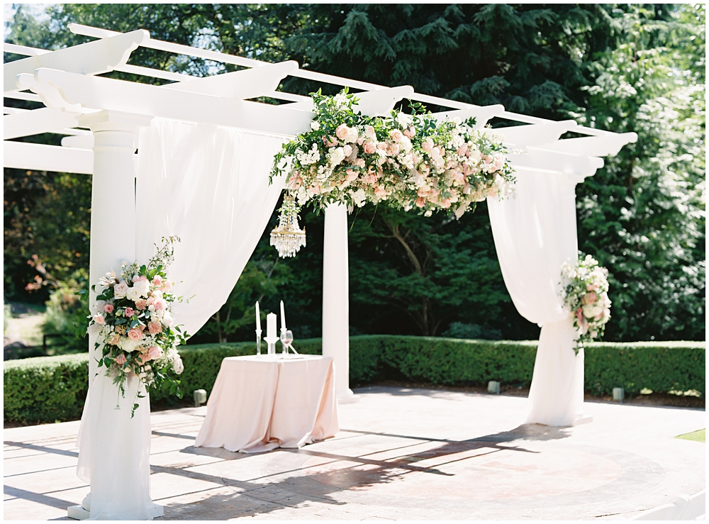 Intimate Thai American Rock Creek Gardens Wedding Seattle
