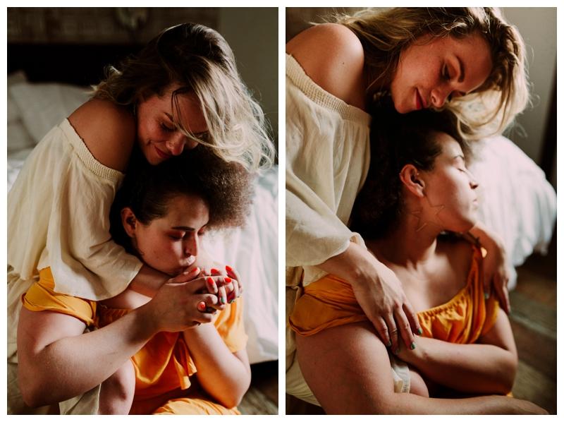 Rhetta & Hannah | Intimate Brooklyn NY Couple's Session