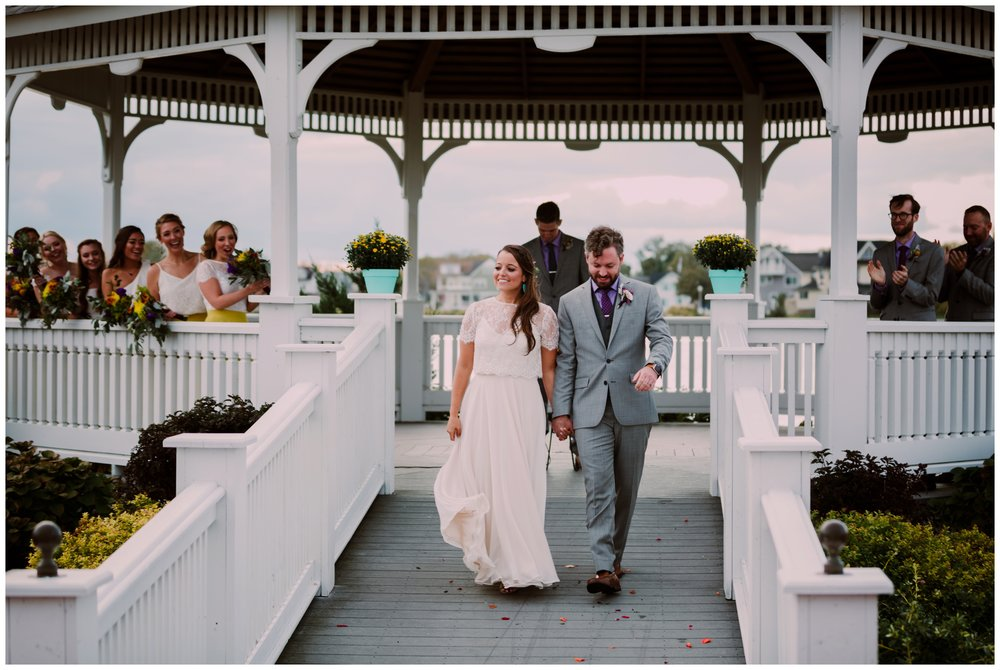 Nicole & Joe | Trendy Bohemian Belmar NJ Beach WeddingNicole & Joe | Trendy Bohemian Belmar NJ Beach Wedding