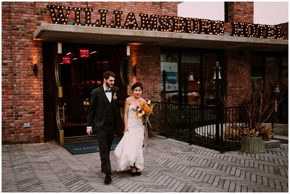 Williamsburg Hotel Wedding Feature on Catalyst Wedding Co. | Styled Shoot