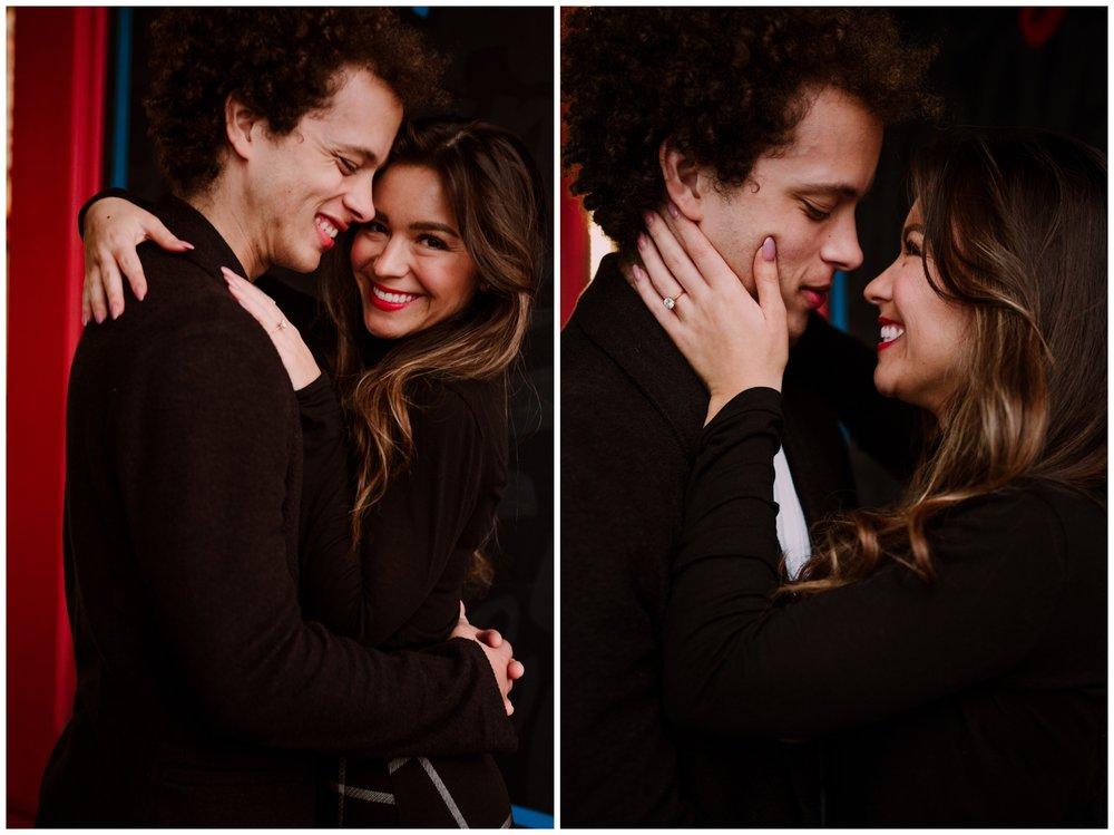 Grace and Damon | Stylish Chelsea NYC and Hoboken Engagement Session | NYC Wedding Photographer-10.jpg