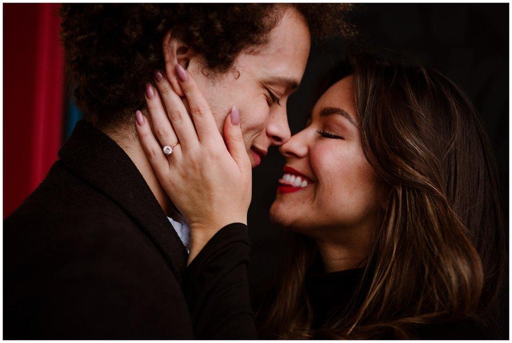 Grace and Damon | Stylish Chelsea NYC and Hoboken Engagement Session | NYC Wedding Photographer-11.jpg