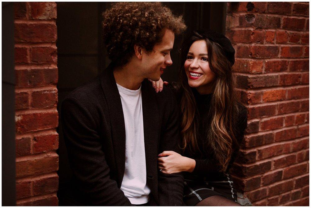 Grace and Damon | Stylish Chelsea NYC and Hoboken Engagement Session | NYC Wedding Photographer-14.jpg