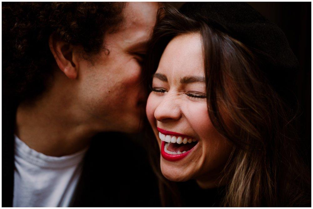 Grace and Damon | Stylish Chelsea NYC and Hoboken Engagement Session | NYC Wedding Photographer-19.jpg