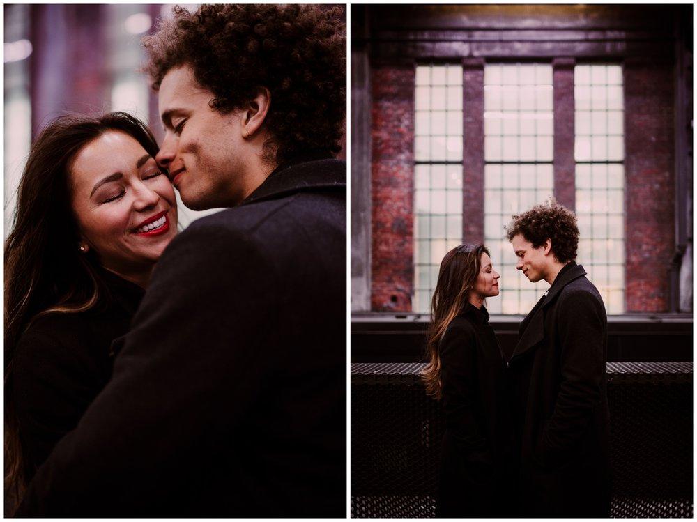 Grace and Damon | Stylish Chelsea NYC and Hoboken Engagement Session | NYC Wedding Photographer-27.jpg