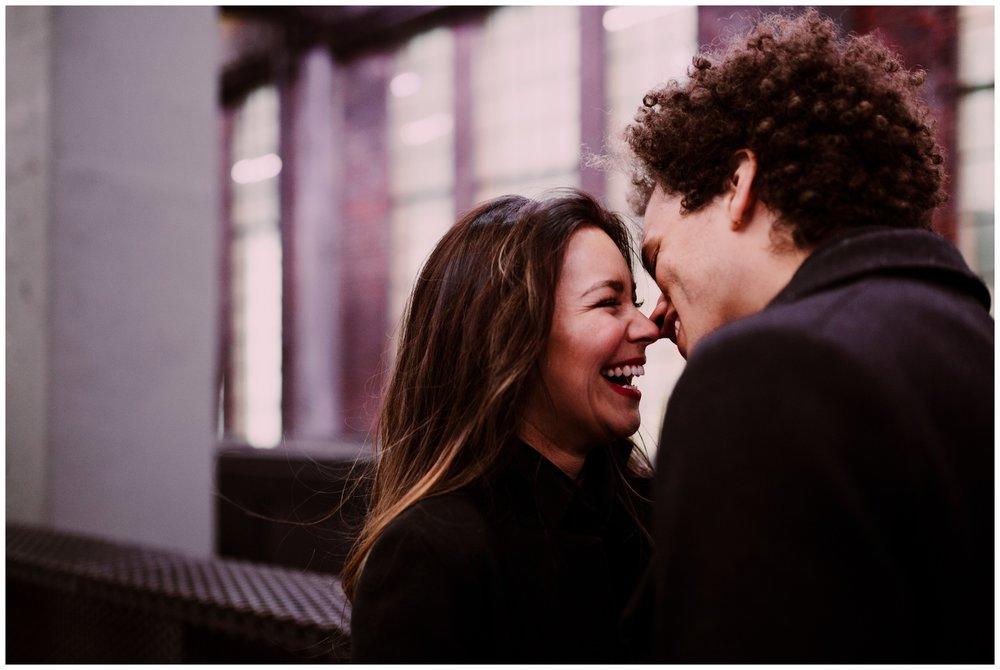 Grace and Damon | Stylish Chelsea NYC and Hoboken Engagement Session | NYC Wedding Photographer-33.jpg