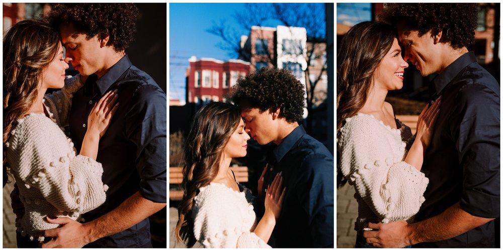 Grace and Damon | Stylish Chelsea NYC and Hoboken Engagement Session | NYC Wedding Photographer-42.jpg