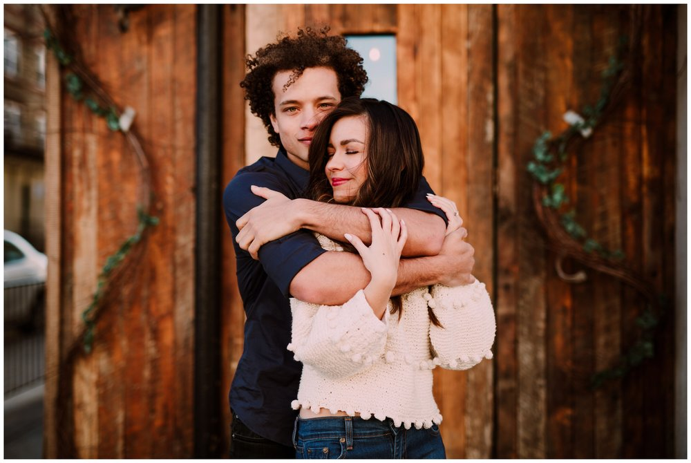 Grace and Damon | Stylish Chelsea NYC and Hoboken Engagement Session | NYC Wedding Photographer-67.jpg