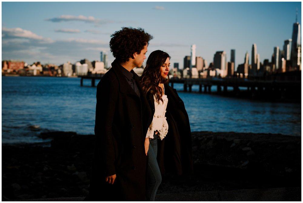 Grace and Damon | Stylish Chelsea NYC and Hoboken Engagement Session | NYC Wedding Photographer-84.jpg