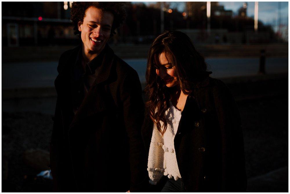 Grace and Damon | Stylish Chelsea NYC and Hoboken Engagement Session | NYC Wedding Photographer-89.jpg