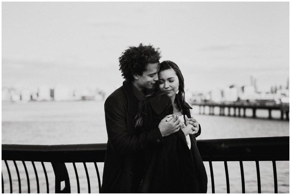 Grace and Damon | Stylish Chelsea NYC and Hoboken Engagement Session | NYC Wedding Photographer-90.jpg