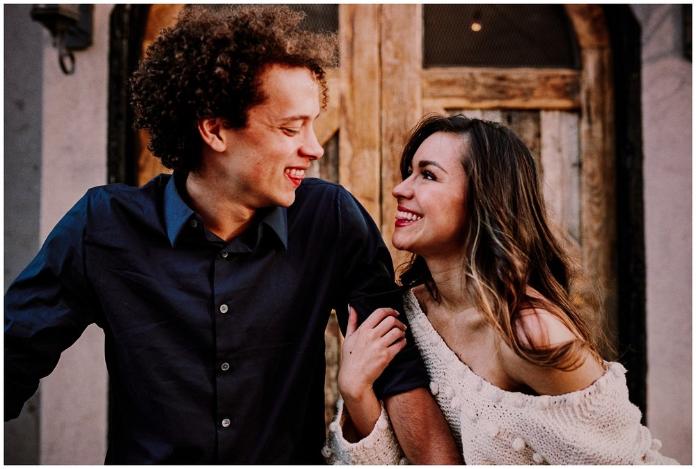 Grace and Damon | Stylish Chelsea NYC and Hoboken Engagement Session | NYC Wedding Photographer-100.jpg