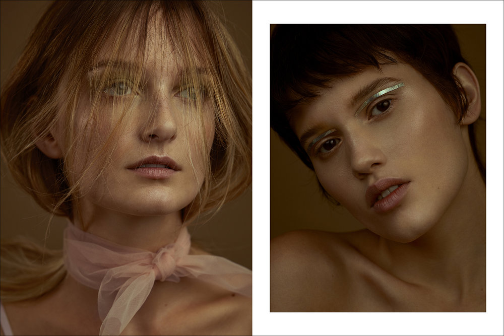 Models: Jessica Pauletto (Prime Model) and Fernanda Beuker (Way Model)  Looks: Acervo