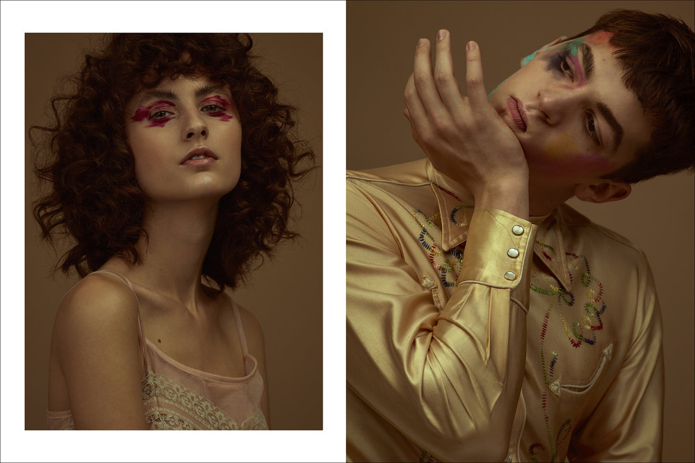 Models: Leila Zandonai (Way Model) and Leonardo Dieter (Joy Model)  Looks: B. Luxo