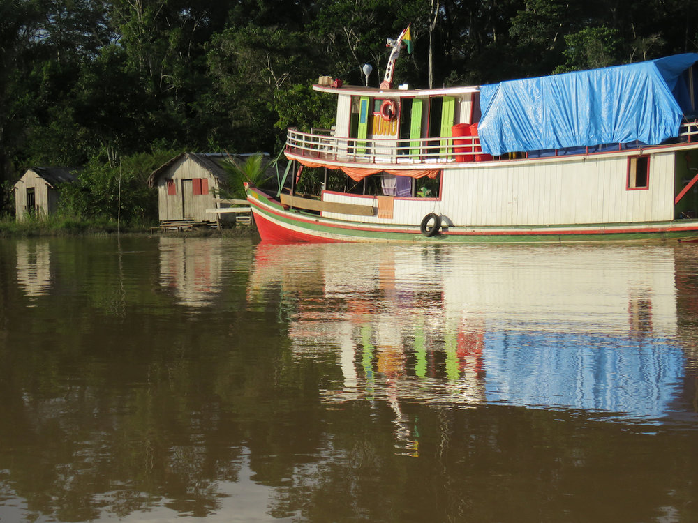 Cortesia de House Boat Amazon e Global Conservation International