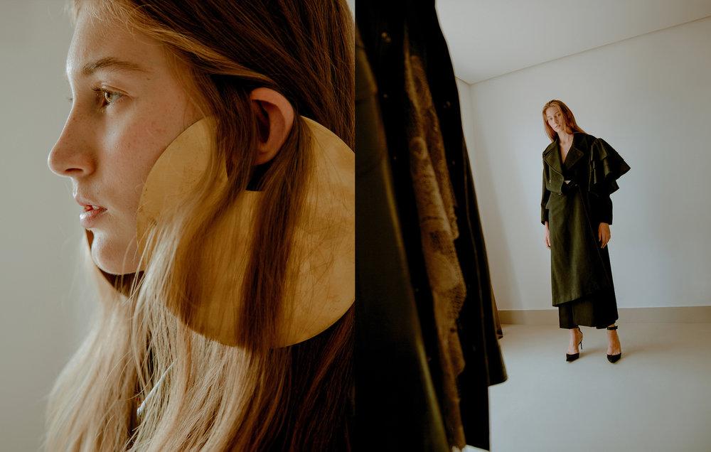 Brinco Bla Brennheisen  Trench Coat Calvin Klein