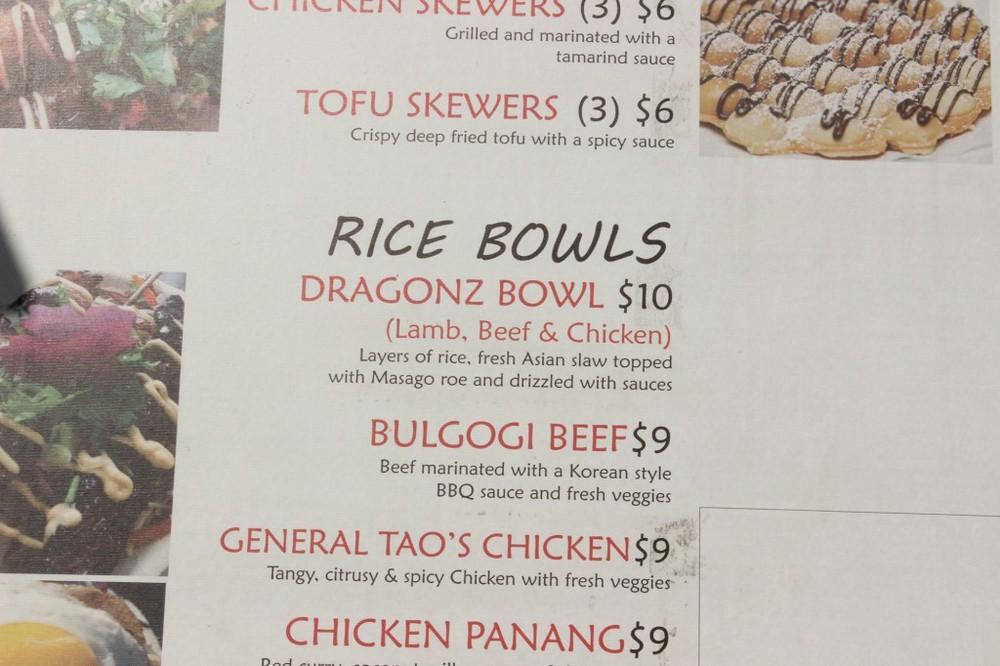So yummy. Dragon BOWWWL