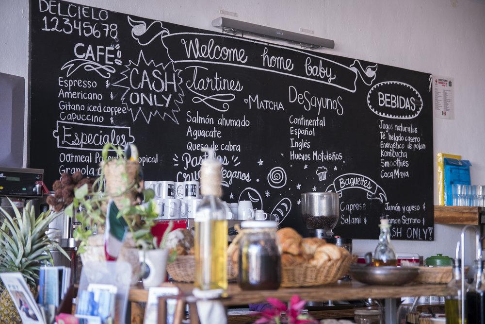 Beautiful Del Cielo Restaurant in Tulum, Mexico