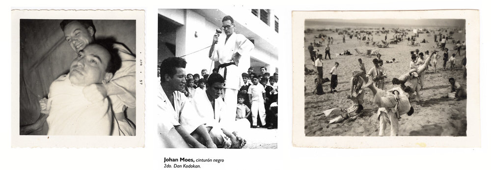 Johan attended one of the first judo schools in Holland.When he arrived in Latin America, in Ecuador, it stroked him how popular the sport was there.As a 2-dan black belt, he.  teaching judo became his first profession. As a 2-Dan black belt,He instructed