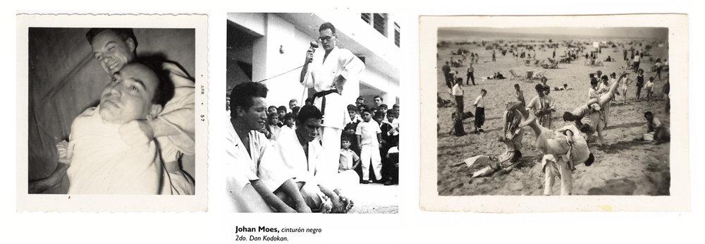 Johan foi parte de uma das primeiras escolas de judô na Holanda. Quando ele chegou na América Latina, no Equador,ficou impressionado com a popularidade do esporte. Como faixa preta de 2-dan, logo começou ensinar judô em varíos lugares.