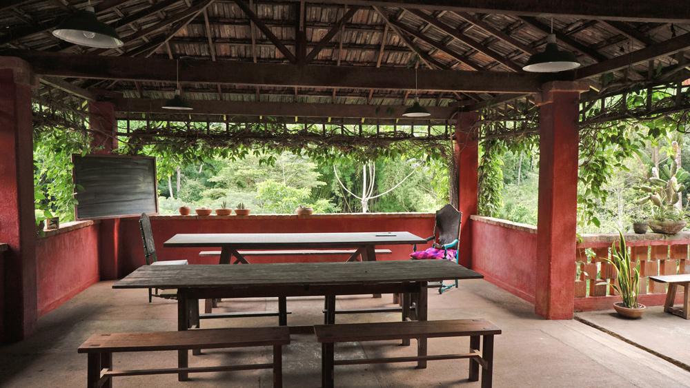 refeitório / sala de jantar e palestras