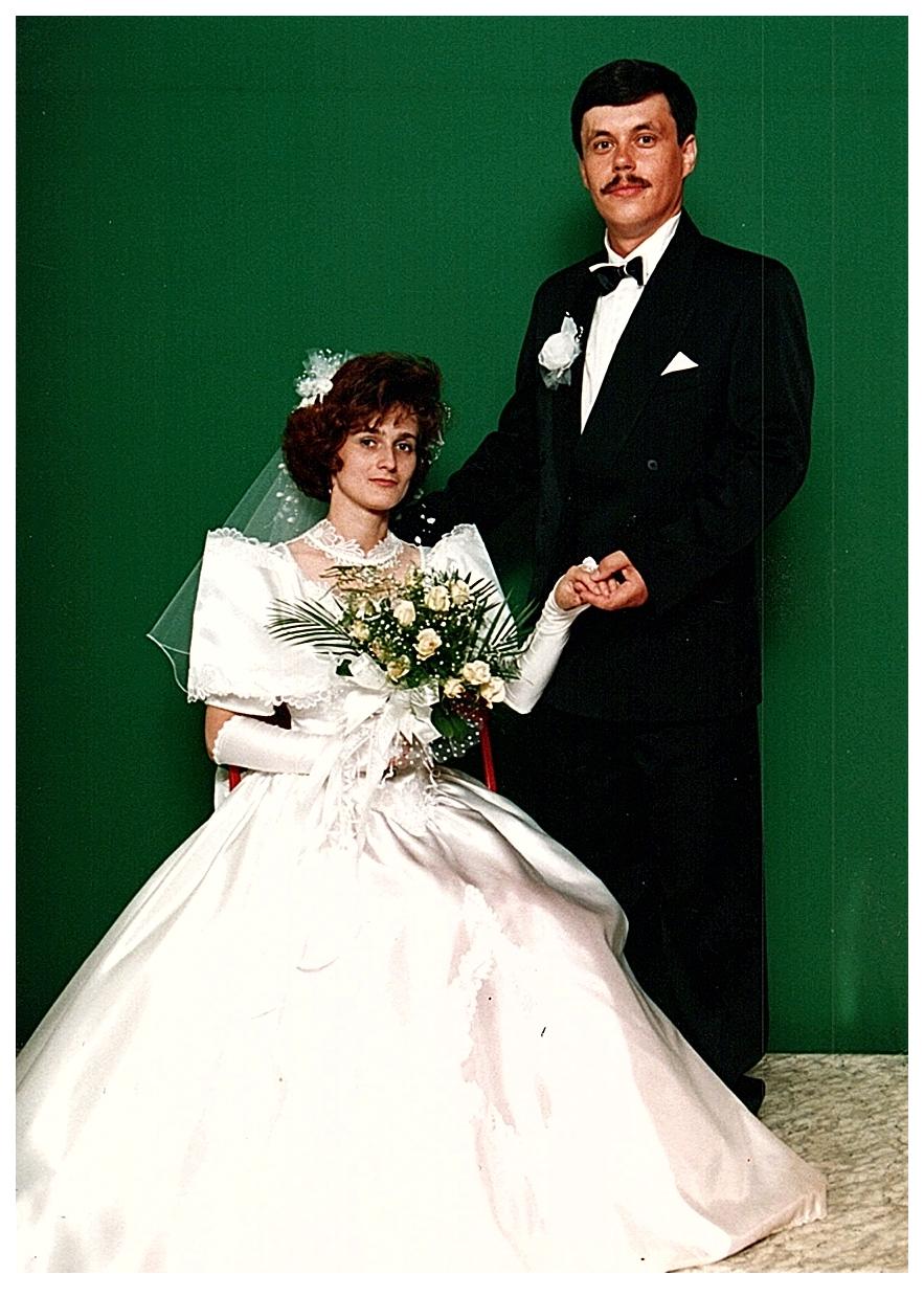 Zbyszek Romaniuk got married