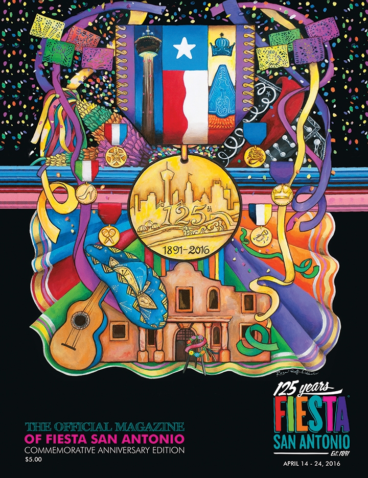 Magazine Publishing: 125th Fiesta San Antonio Magazine
