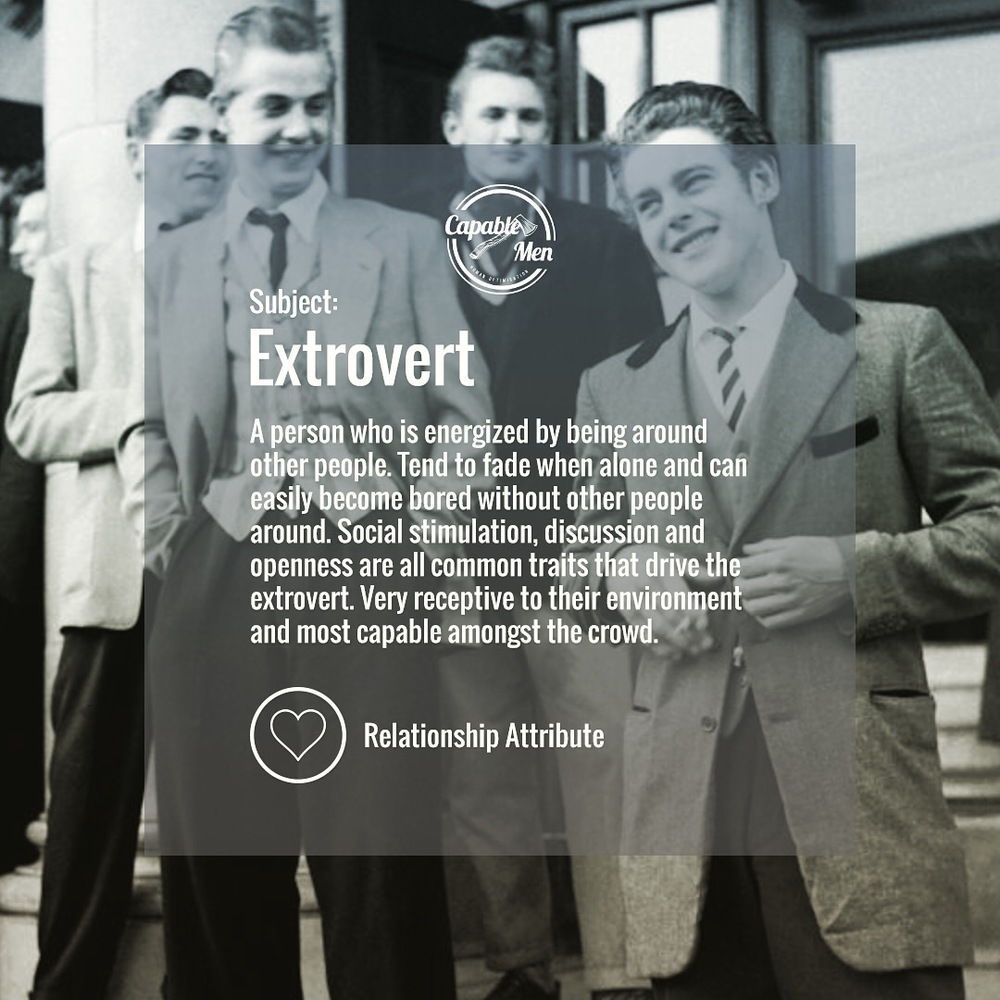 what is an extrovert?