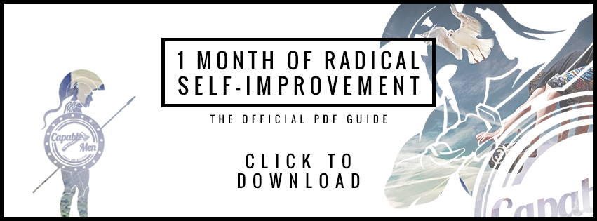 free guide to radically change your life in 1 month