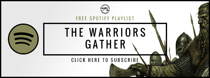 Playlist for training like a warrior