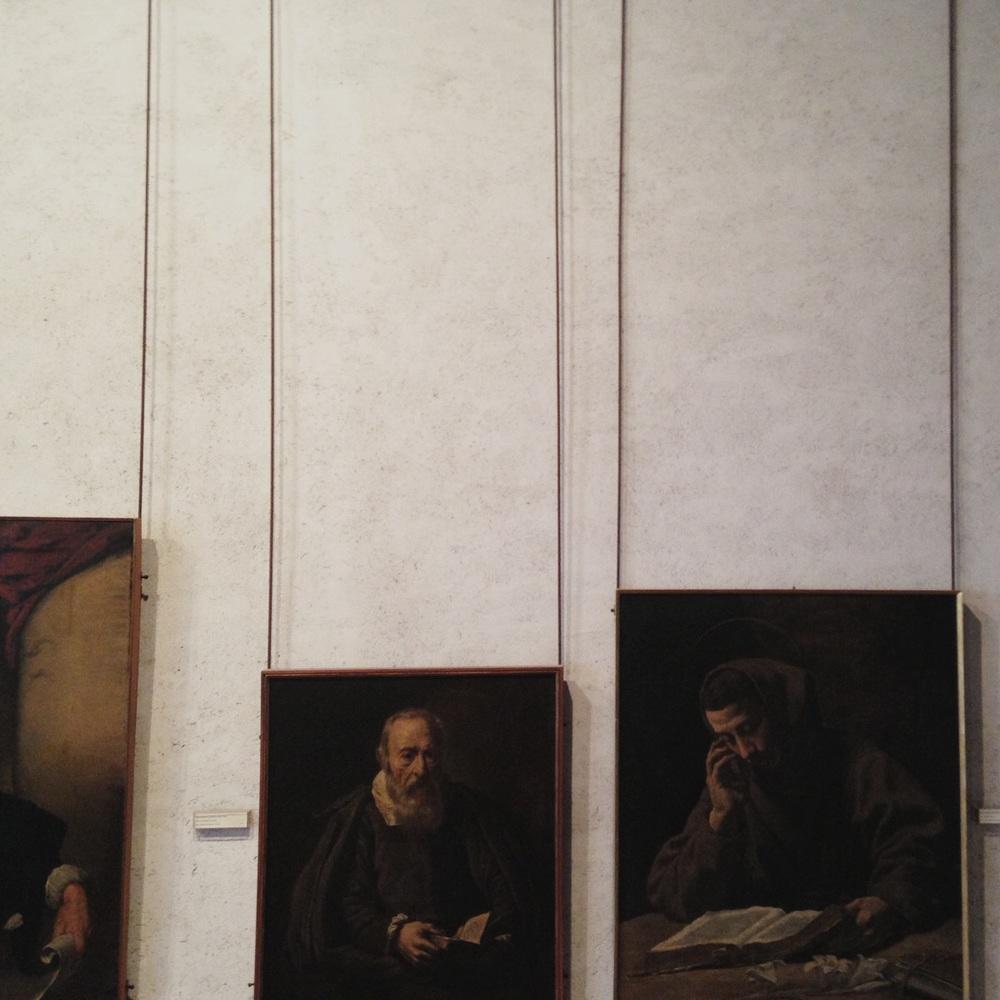 Art. castelvecchio museum, Verona. (Scarpa, restored 1973)