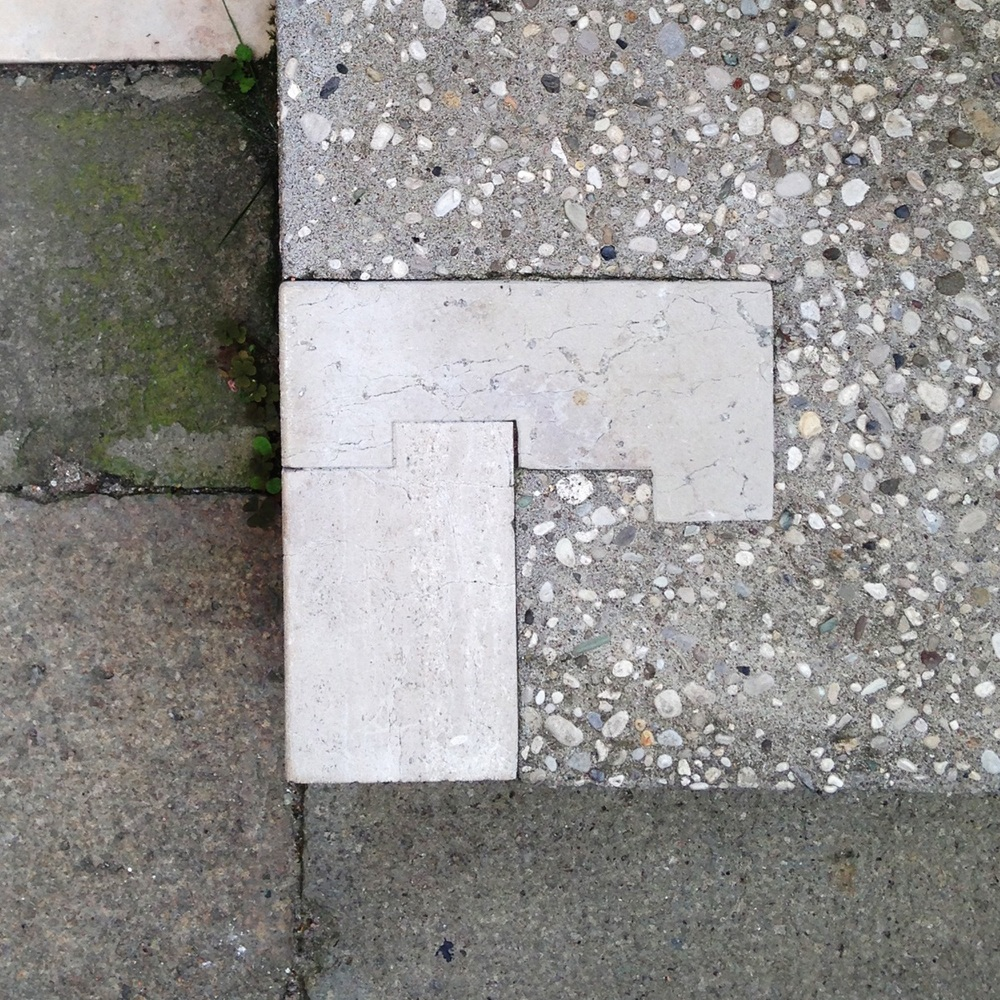 Floor detail. The Fondazione Querini Stampalia, Venezia ( Scarpa 1969)