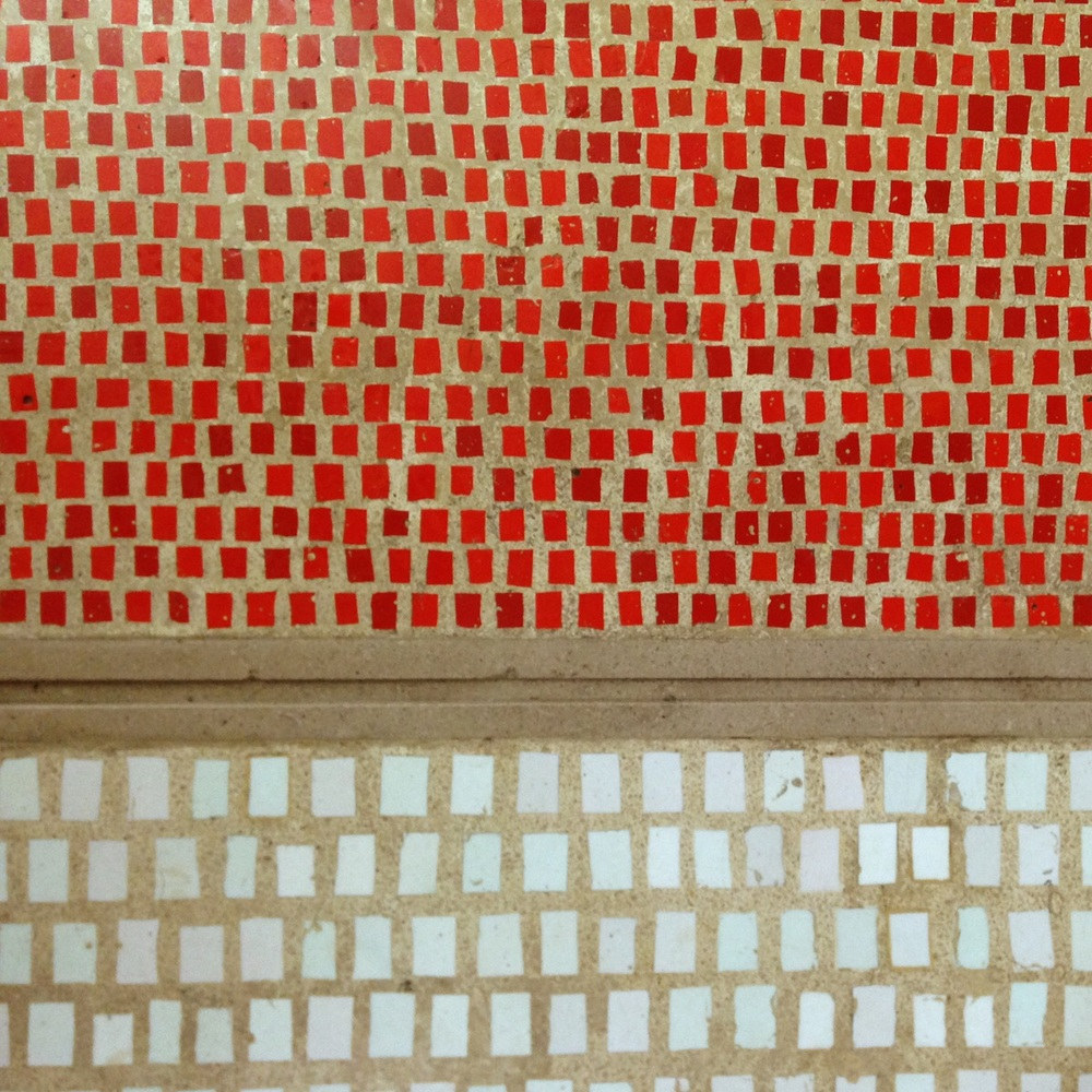 Mosaic floor. Olivetti showroom. Piazza san Marko. Venezia. ( Scarpa 1958)
